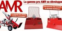 Une fendeuse homologuée pour la route et des treuils professionnels chez AMR