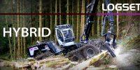 La plus puissante abatteuse sur roues désormais Hybride ! La LOGSET 12H GTE Hybrid