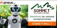 Venez rencontrer l'équipe Allopneus.com au Sommet de la Forêt et du Bois à Clermont Ferrand