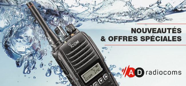 Nouveautés et offres spéciales chez AD Radiocoms !
