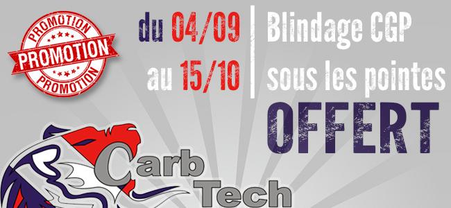 Carb Tech – Blindage CGP sous les pointes OFFERT