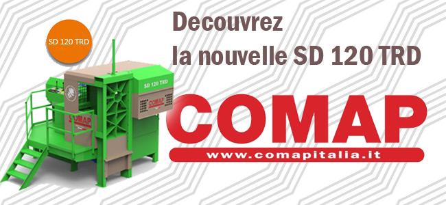 Découvrez la nouvelle SD 120 TRD de chez COMAP