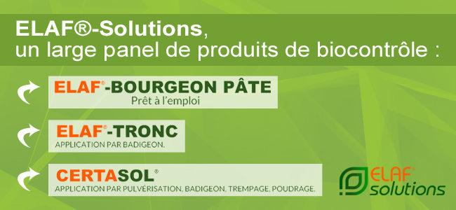 Une large gamme de produits Biocontrôle