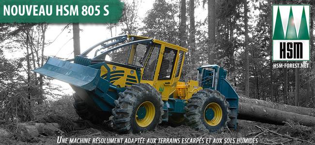 Un fort rendement à moindre coût : le 805 S de chez HSM