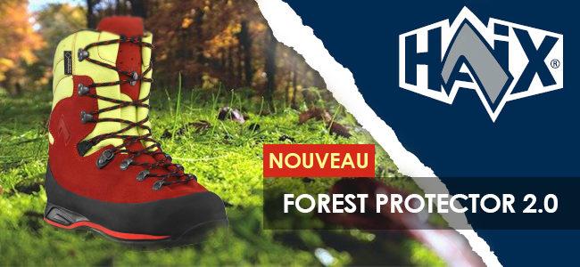 Haix VOUS PRESENTE SES NOUVELLES PROTECTOR FOREST 2.0