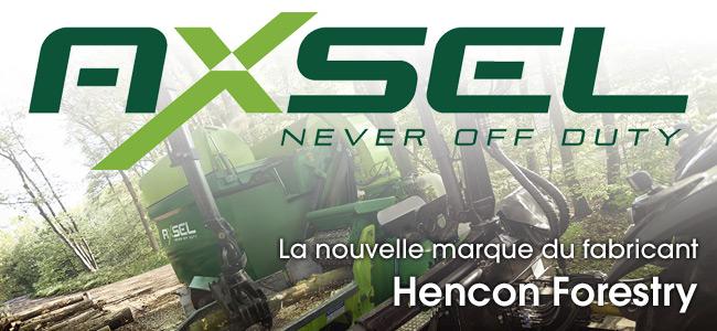 AXSEL, la nouvelle marque du fabricant Hencon Forestry