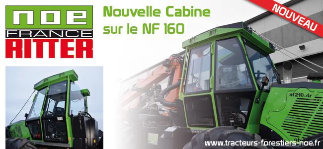 Nouvelle cabine sur le NF160 de chez NOE