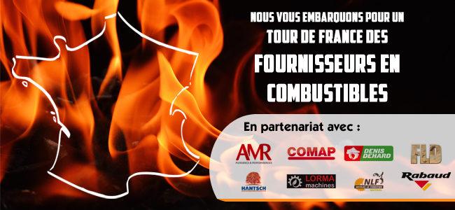 Nous vous embarquons pour un tour de France des fournisseurs en combustibles