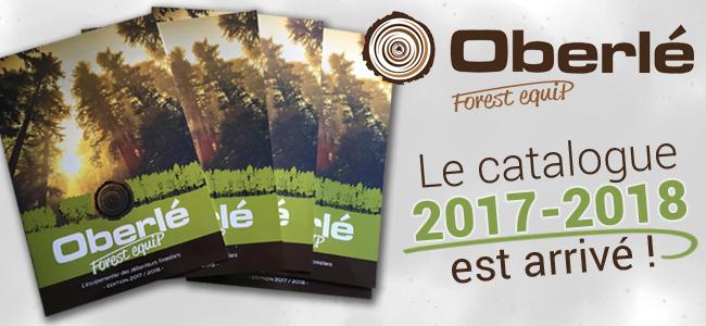 Demandez vite votre catalogue OBERLÉ Forest'Équip