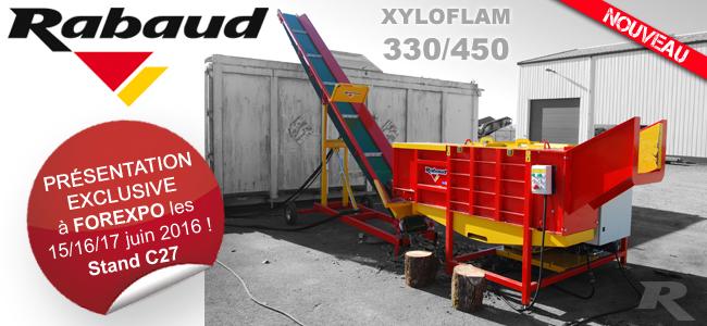 Nouveau chez Rabaud : le XYLOFLAM 330/450
