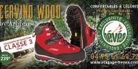 Chaussures de Protection CERVINO WOOD chez Hévéa !
