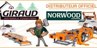 GIRAUD désormais distributeur officiel des scieries NORWOOD
