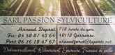 – Passion Sylviculture –